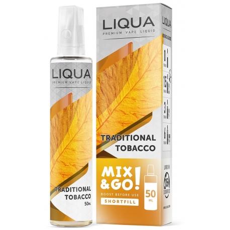 E-liquid Liqua Mix & Go Traditional Tobacco 50 ml