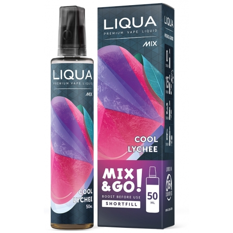 E-liquide LIQUA 50 ml Mix & Go Cool Lychee / Litchi Glacé