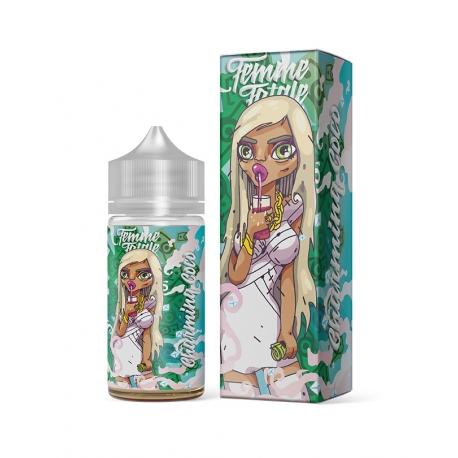 Differ - E-liquide Femme Fatale 80 ml Charming Coco/Charmante Coco