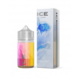 Differ - E-liquide Ice 60 ml Tropical Mix/Mix Tropical Glacé