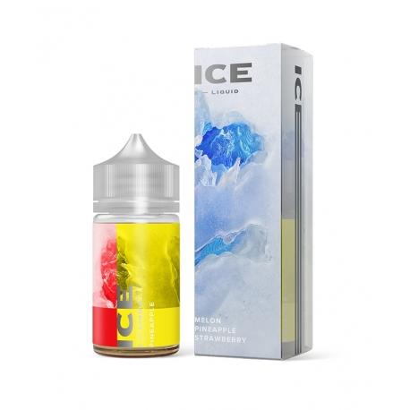 Differ - E-liquide Ice 60 ml Melon & Pineapple & Strawberry/Melon & Ananas & Fraise Glacés