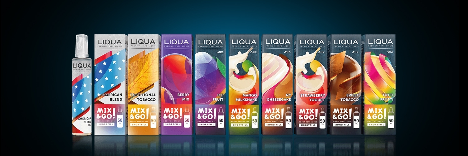 E-liquides Liqua Mix & Go 50 ml