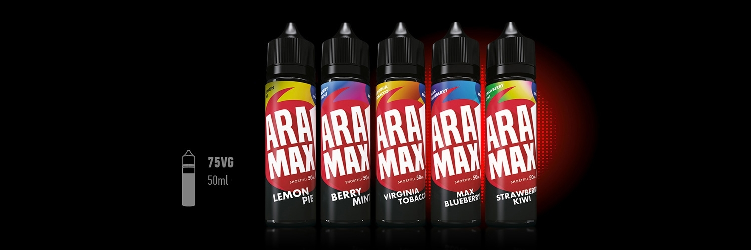 E-liquids Aramax Short Fill 50 ml