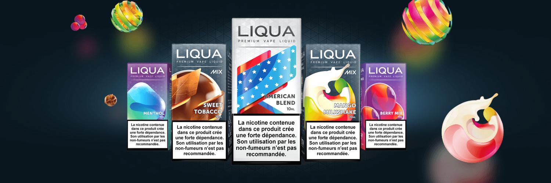 E-liquides LIQUA