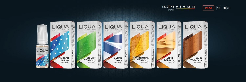 E-Liquides Liqua Classiques