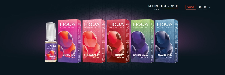 E-liquides Liqua Baies Juteuses