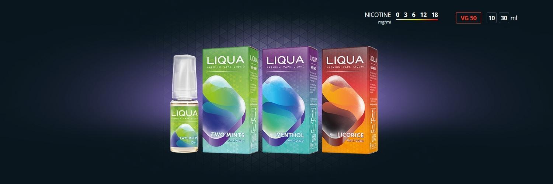 E-liquides Liqua Mentholées
