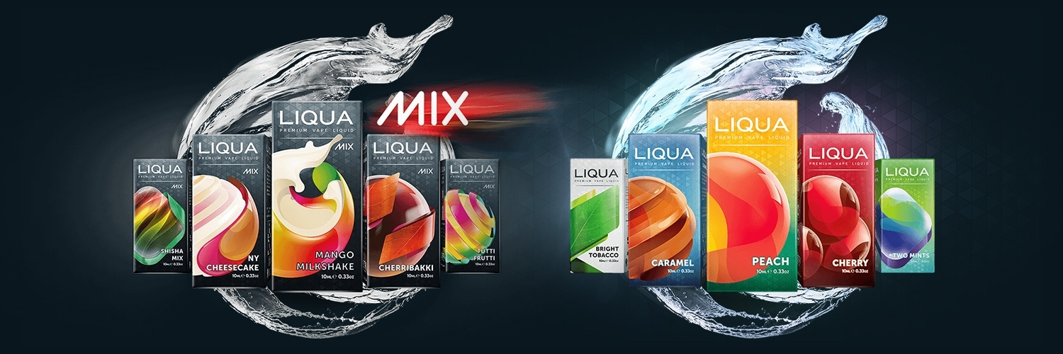 E-liquides Liqua Packs