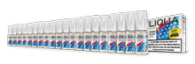 Liqua pack of 20 - 5 x 10 ml